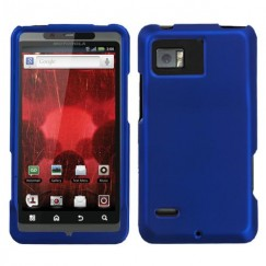 Motorola Droid Bionic Titanium Solid Dark Blue Case