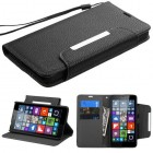 Nokia Lumia 640 Black Wallet