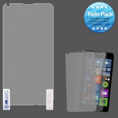 Nokia Lumia 640 Screen Protector Twin Pack