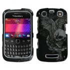 Blackberry 9360 Curve Skull Wing Phone Protector Cover