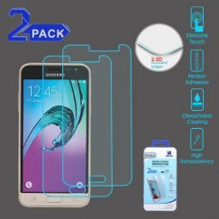 Samsung Galaxy J3 Tempered Glass Screen Protector - 2-pack