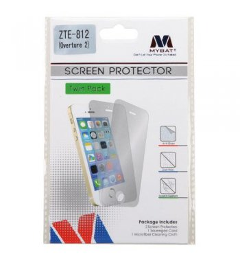 ZTE Maven / Overture 2 / Fanfare Screen Protector Twin Pack