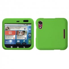 Motorola Flipout Dr Green Case - Rubberized