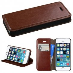 Apple iPhone 5s Brown Wallet with Tray