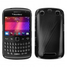 Blackberry 9360 Curve Black Cosmo Back Protector Cover