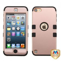 Apple iPod Touch (5th Generation) Rose Gold/Black Hybrid Case