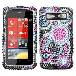 HTC Trophy Bubble Diamante Case
