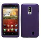 LG Spectrum Solid Skin Cover (Dr Purple)