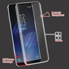 Samsung Galaxy S8 Screen Protector (with Curved Coverage)