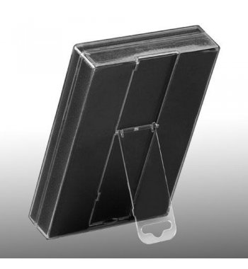 Transparant Packing Box (L=5.90*W=4.05*D=1.00 inch) (With Black Card)