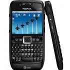 Nokia E71x Bluetooth WiFi 3G GPS Black Phone Unlocked