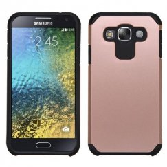 Samsung Galaxy E5 Rose Gold/Black Astronoot Case