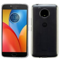 Motorola Moto E4 Plus Glossy Transparent Clear Candy Skin Cover