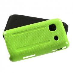 Samsung Galaxy Prevail Natural Pearl Green/Black Fusion Case