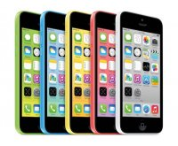 Apple iPhone 5c 16GB 4G LTE with iSight Camera in Yellow AT&T Wireless