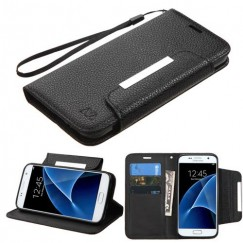 Samsung Galaxy S7 Black Wallet