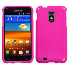 Samsung Epic 4G Touch (Galaxy S2) Solid Shocking Pink Case