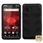 Motorola Droid Bionic Natural Black Fishbone Case