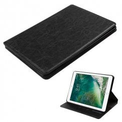 AppleiPad iPad 9.7 2017 Black Wallet with Tray