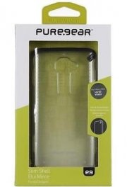 LG G2 PureGear Slim Shell Case - Clear/Black