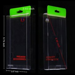(20PCS)Plastic Case Packing (Green) (L=5.79*W=3.07*D=0.63 inch)