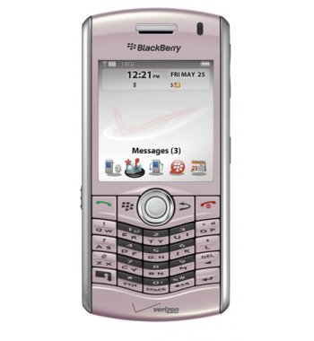 Blackberry Pearl 8130Bluetooth GPS PDA phone for Verizon in Pink