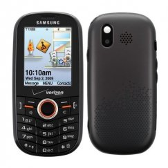 Samsung Intensity SCH-U450PP QWERTY Messaging Phone for Verizon Prepaid - Black