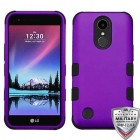 Rubberized Grape/Black Hybrid Phone Protector Cover [Military-Grade Certified]