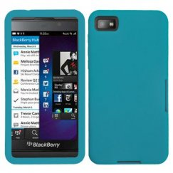 Blackberry Z10 Solid Skin Cover - Tropical Teal