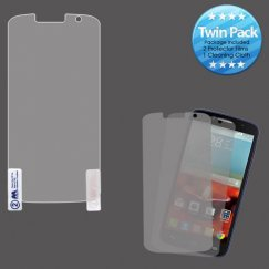 Alcatel One Touch Fierce 2 Screen Protector Twin Pack