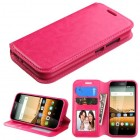 Huawei Union Y538 Hot Pink Wallet with Tray