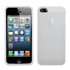 Apple iPhone 5/5s Solid Skin Cover (Translucent White)