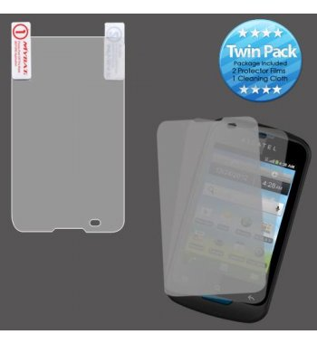 Alcatel One Touch Shockwave Screen Protector Twin Pack