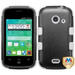 ZTE Prelude 2 / Zinger Natural Black/White Hybrid Case