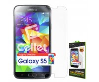 Premium Tempered Glass Screen Protector for Samsung Galaxy S5 (0.3mm)