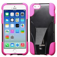 Apple iPhone 6/6s Hot Pink Inverse Advanced Armor Stand Case