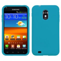Samsung Epic 4G Touch (Galaxy S2) Solid Skin Cover - Tropical Teal