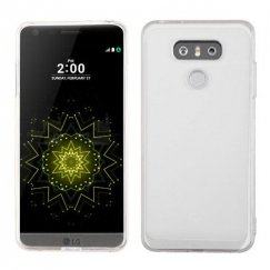LG G6 Transparent Clear/Transparent Clear Gummy Lite
