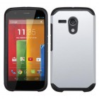 Motorola Moto G Silver/Black Astronoot Phone Protector Cover