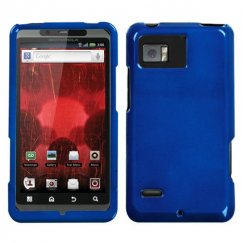 Motorola Droid Bionic Solid Dark Blue Case