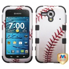Kyocera Hydro Edge Baseball-Sports Collection/Black Hybrid Case