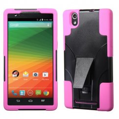 ZTE ZMax Hot Pink Inverse Advanced Armor Stand Case