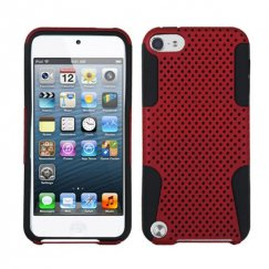 Apple iPod Touch (5th Generation) Red/Black Astronoot Case