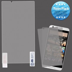 HTC Desire 626 Screen Protector Twin Pack