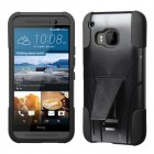 HTC One M9 Black Inverse Advanced Armor Stand Case