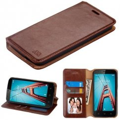 Brown Wallet with Tray