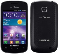 Samsung Illusion SCH-i110PP Android Smartphone for Verizon PREPAID - Black