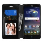 ZTE Grand X 3 / Warp 7 Black Wallet(with Tray)