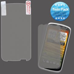 HTC One V Screen Protector Twin Pack