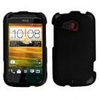 HTC Desire C Solid Black Phone Protector Cover